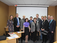 Representatives of Finnish universities in Rovaniemi and Kajaani visited MSTU