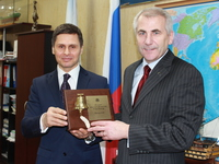 The Head of the EU Delegation to the Russian Federation Vygaudas Usackas visited MSTU