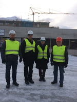 Kick-off meeting for the new international project was held in Narvik, Norway