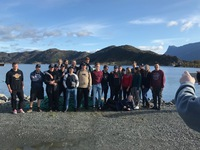 Students of Murmansk Marine Fishery College and students of Norwegian upper secondary school in Maloy participated in a project «Blue Ocean/Blue Responsibility»